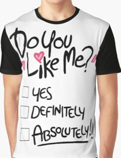 Gravity Falls Mabel: do you like me Graphic T-Shirt