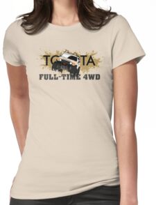 FJ FULL TIME 4WD Womens Fitted T-Shirt