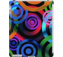 Circular Cycles Abstract iPad Case/Skin