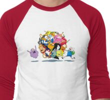 It's Adventure Time !! Men's Baseball ¾ T-Shirt