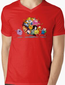 It's Adventure Time !! Mens V-Neck T-Shirt