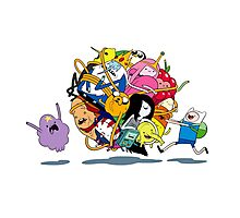 It's Adventure Time !! Photographic Print