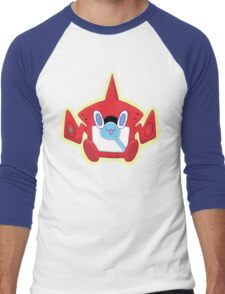 Kawaii RotomDex Men's Baseball ¾ T-Shirt