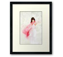 Hazy shade of winter Framed Print