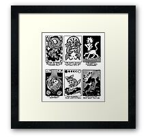 Sigils for Trauma and Recovery -- Tighter Crop Framed Print