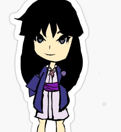 Maya Fey Chibi Sticker