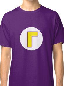 Waluigi Symbol Classic T-Shirt