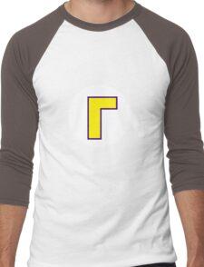 Waluigi Symbol Men's Baseball ¾ T-Shirt