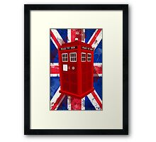 Police Call Box Framed Print