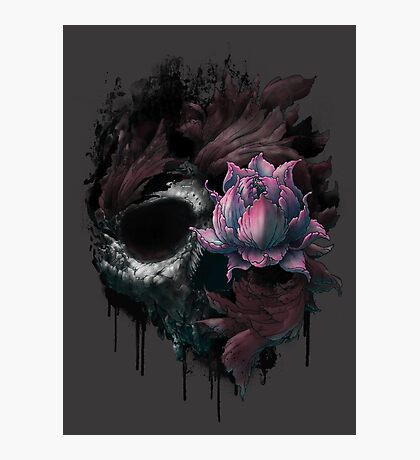 Death Blooms Photographic Print