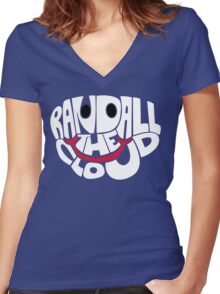 Randall The Cloud Women's Fitted V-Neck T-Shirt