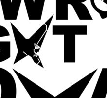 Part Of The Group (Black) Sticker