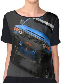 FJ CRUISER BLUE Chiffon Top