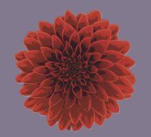 Beautiful Dahlia flower design Kids Tee