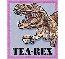 Tea-Rex  Photographic Print