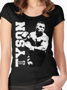 MIKE TYSON Prepare for Hit Women's Fitted Scoop T-Shirt