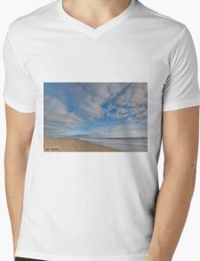 Pacific Ocean at Damon Point Mens V-Neck T-Shirt