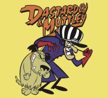 Dastardly & Muttley Kids Tee