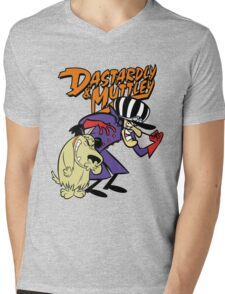 Dastardly & Muttley Mens V-Neck T-Shirt