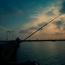 Fishing For Light by MichaelCouacaud