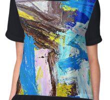 Abstract #1 Chiffon Top