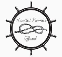 Knotted Promise Nautical  Kids Tee