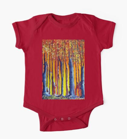 In the shadow of a poplar tree One Piece - Short Sleeve