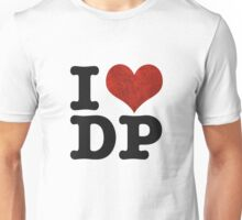 I heart DP on white Unisex T-Shirt
