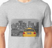 Welcome to San Diego-Yellow Cab Unisex T-Shirt
