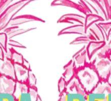 Pineapple Kappa Delta Sticker