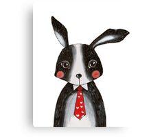 Sweet Lovey Bunny Canvas Print