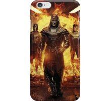 Apocalypse and the four horseman iPhone Case/Skin
