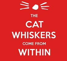 Whiskers Within Cat Unisex T-Shirt