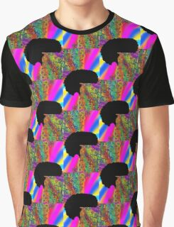 trippy afro Graphic T-Shirt