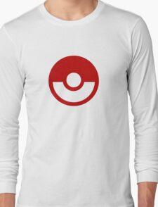 Pokemon Logo Long Sleeve T-Shirt