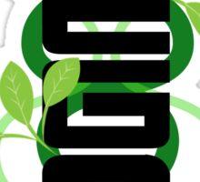 Vertical Vegan Sticker