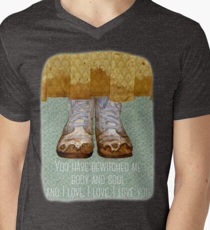 Mr Darcy  Mens V-Neck T-Shirt