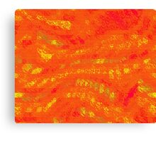 Red & Yellow Abstract Canvas Print