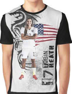 Uswnt Tobin Heath Design Graphic T-Shirt