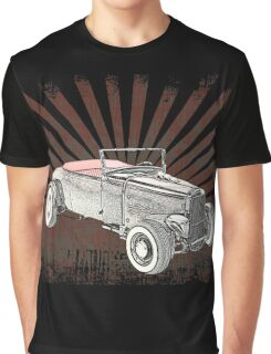 1931 Ford Hot Rod with Sunburst Graphic T-Shirt