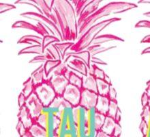 Pineapple Zeta Tau Alpha Sticker