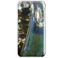 Distorted bottle iPhone Case/Skin