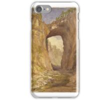 John Henry Hill (American, ). Natural Bridge, Virginia,  iPhone Case/Skin
