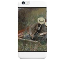 John Singer Sargent (American, ). An Out-of-Doors Study,  iPhone Case/Skin