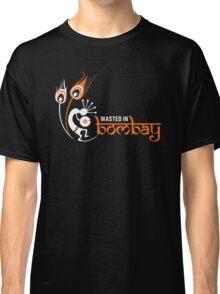 Wasted In Bombay - Orange Logo Promo Classic T-Shirt