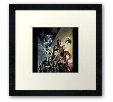 X-Men Apocalypse war Framed Print