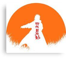 yondaime Canvas Print