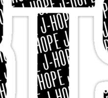 BTS/Bangtan Boys Logo/Font + J-Hope Sticker