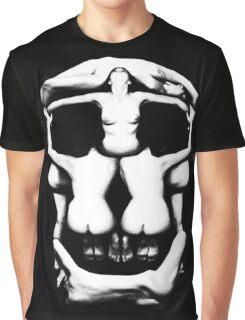 DALI SKULL Graphic T-Shirt