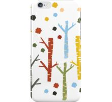woodland forest iPhone Case/Skin